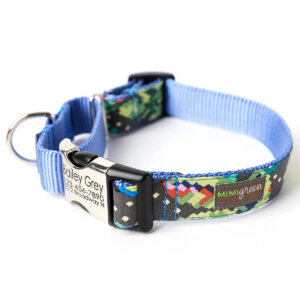 Engraved Martingale Dog Collar *Classic Styles