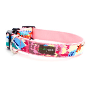 Pixie Pink Designer Dog Collar