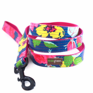 Pink Floral Dog Leash