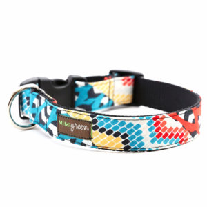Native Pattern dog collar