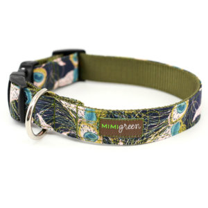 Jasper Green Dog Collar
