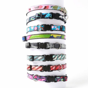 laminated cat collars