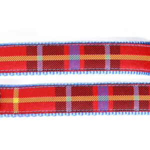 Scotty Red Ribbon / Sky Blue Webbing