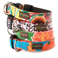 Laminated Cotton Dog Collars