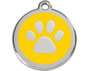 Red Dingo Paw Dog Tag - 11 colors!